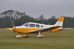 13th June 2010 RAF Cosford Airshow (rob  68) Tags: 13th june 2010 raf cosford airshow piper pa28 warrior ii gbnom serial 2816024
