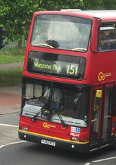 London General PVL283 on route 151 Sutton Green 05/06/15. (Ledlon89) Tags: bus london transport surrey sutton londonbus tfl londongeneral goaheadlondon bsues