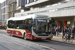 LOTHIAN BUSES 13 BT14DJY (bobbyblack51) Tags: buses volvo edinburgh hybrid 13 lothian 2014 7900 bt14djy