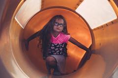 Tunnel (AGraddyPhoto) Tags: portrait girl canon child daughter tunnel canon6d agraddyphoto