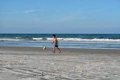 Beach Soccer (Jenny with a camera) Tags: beach florida soccer ethan
