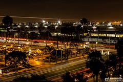 Always Busy (gvonwahlde) Tags: city canon losangeles traffic lighttrails lax vonwahlde