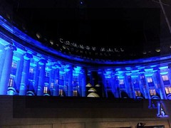 (dazmo862) Tags: blue building thames columns countyhall