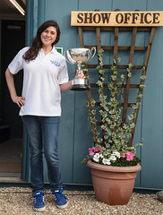 211/366 Mira & a Cup - 366 Project 2 - 2016 (dorsetpeach) Tags: yeovilshow show agriculturalshow yeovil somerset england event trophy 366project aphotoadayforayear 365 366 2016 second365project