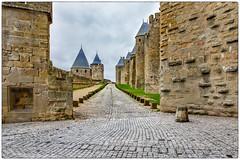 chez Dame Carcas (Paloudan) Tags: carcassonne remparts castle chateau aude damecarcas