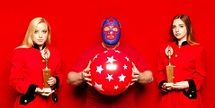The Red Balloon (Studio d'Xavier) Tags: werehere redballoon red trophy 365 july292016 211366 themaskedsuperstar balloon luchalibre luchador