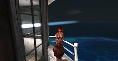 20160704 - PatrickUnicorn_02_001_001 (Patrick Unicorn) Tags: boy lady lighthouse evening sea shore ocean beach outfit spanish admiral girl