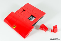 REVIEW LEGO 10248 Ferrari (HelloBricksCom) Tags: lego 10248 creator creatorexpert ferrari f40 car voiture rouge red review revue hellobricks