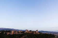 Moon over the Alhambra