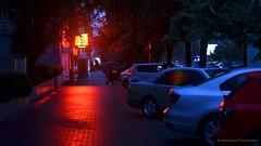 RedLight (gala.timchenko) Tags: lights cars street rain red kyiv