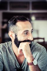 Piro (Chiara M.) Tags: ritratto portrait boy profile profilo orologio