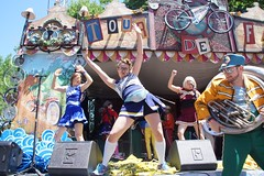 Mucca Pazza #2016 (drew*in*chicago) Tags: muccapazza chicago 2016 tourdefat cheerleaders festival beer newbelgium brewing band marching music outdoor logansquare