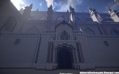 Catedral de Astorga en Minecraft (sminecrafting) Tags: astorga minecraft