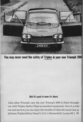 Leyland Standard Triumph (Clanger's England) Tags: 1963 london motorshow ad classiccar