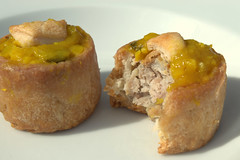 Piccalilli Topped Mini Pork Pies made to mark the Queen's Birthday (Tony Worrall Foto) Tags: piccalilli topped mini pork pies made mark queens birthday add tag 2016tonyworrall images photos photograff things uk england food foodie grub eat eaten taste tasty cook cooked iatethis foodporn foodpictures picturesoffood dish dishes menu plate plated ingrediants nice flavour foodophile x yummy make tasted meal