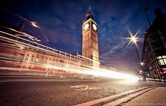 The Big Ben London (David Martnez Asuar) Tags: london bigben big ben londres canon eos 6d canonistas longexposure largaexposicion luces lights light night city clock 14mm granangular angular