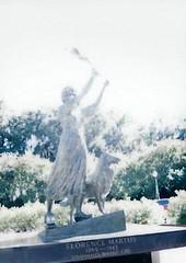 The Waving Girl (peachy92) Tags: thewavinggirl morrellpark fujifilminstaxmini8 film filmcamera fujifilminstax fujicolor fujicolorfilm family chathamcountygeorgia chathamcountyga chathamcounty chatham 2016 savannah georgia ga us usa unitedstates unitedstatesofamerica savannahga savannahgeorgia instantphoto instantphotography downtownsavannah