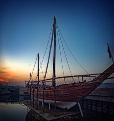 Sunset over Salmiya seaside in Kuwait City (CamelKW) Tags: sunset salmiya seaside kuwaitcity kuwait kuwait2212016