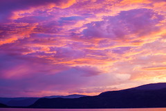 Sailor's Delight (stevenbulman44) Tags: 70200f28l shuswap summer holiday sunset canon filter tripod silhouette mountain sky pink cloud