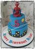 Spiderman Birthday Cake (Creations By Paula Jane) Tags: birthday cake spiderman