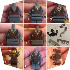 Making Cole (adria1223) Tags: lego legocustom custom custommakung workinprogress cole ninjago ninjagocole ninjagocustom legominifigure legofigure