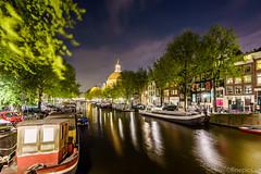 Ännu en kanalbild (johan.bergenstrahle) Tags: longexposure amsterdam architecture evening canal spring cityscape april kanal hdr arkitektur vår stadsbild 2015 kväll finepics långtid