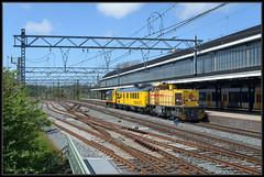 07-05-2015, Haarlem, SR 303002 + SHD CTO meetrijtuig + 2205 (Koen langs de baan) Tags: