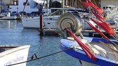 Barcas aparcadas (vcastelo) Tags: espaa puerto mar spain cabo barcos murcia palos