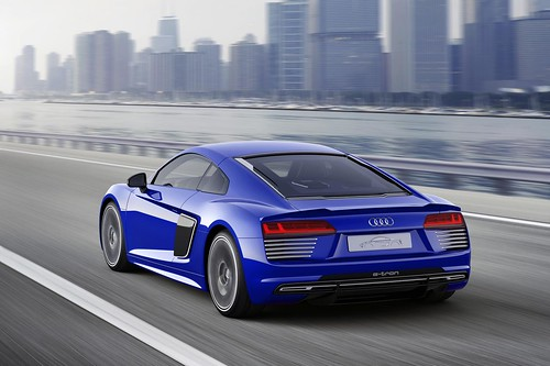 Audi R8 e-tron Piloted Driving Concept