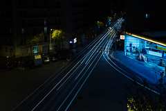 WW9A7764.jpg (Foomm []) Tags: long exposure night barcelona car speed lighting fotomatom where streetphotography holiday caracteristiquesdelaphoto what catalogne