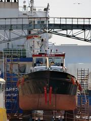 Anita (ENI 05105560) (Parchimer) Tags: ship tanker cuxhaven bunkering tankship binnenschiff inlandvessel bunkerboot