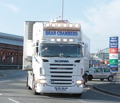 Dean Chambers, Scania R500 (fannyfadams) Tags: uk transport anglesey northwales holyhead a55 irishferries stenalineport