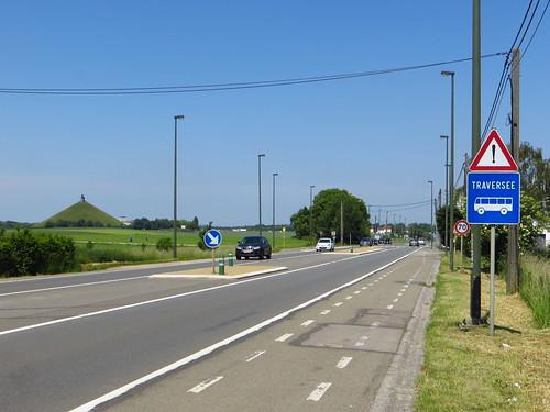 20150605 Waterloo battlefield; Charleroi - Brussels road near La Belle Alliance