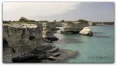 Kreidefelsen (petra.foto on/off) Tags: italien holiday canon meer urlaub landschaft kreidefelsen apulien sditalien fotopetra