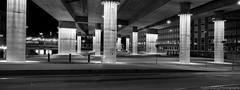 Europaplatz, xpan (Fabio Stoll) Tags: white black analog self kodak outdoor hc110 hasselblad ii plus epson hp5 bern developed ilford xpan v700 europaplatz shootfilm einfarbig schwarzweis
