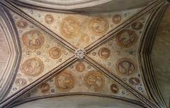Bemalte Decke  der Kathedrale von Winchester (Swassermatrose) Tags: england church cathedral kathedrale kirche hampshire winchester 2016 kirchendecke