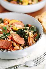 Italian White Bean V (alaridesign) Tags: italian white bean vegetable stew with sausage