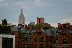 View from the High Line, New York