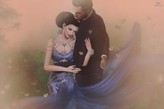 John and Eles~Never let go... (Skip Staheli (Clientlist closed)) Tags: love couple avatar sl digitalpainting secondlife romantic dreamy virtualworld skipstaheli