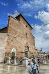 Santa Maria Ara Coeli facciata (ansacariofoto) Tags: italy rome roma architecture churches chiesa atx116prodx tokina1116 nikond5000
