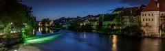 Steyr III (zeitfaenger.at) Tags: hdr steyr upperaustria austria night blue hour panorama olympus omd em1