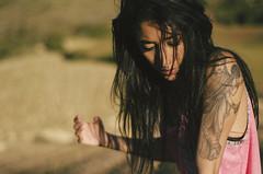 Alma (Rubn T.F.) Tags: girl woman portrait nature land landscape tattoo alma essence