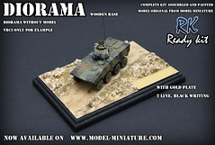 Diorama with gold plate (Model-Miniature / Military-Photo-Report) Tags: scale painted models vab mounted ready kit saad 13 diorama militaire 172 vitrine 120mm maquette transparente chelle t20 talha mortier auf1 t2013 qaswa alqaswa