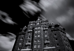 Banff Springs Hotel (larz_73) Tags: longexposure canada nikon le alberta banffspringshotel nd110 d7000
