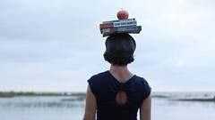 (sonyacita) Tags: utata:project=ip238 books apple balancedonhead