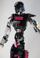How about another heart to heart? (Tails-N-Doll) Tags: lego bionicle undertale robot mettaton ex