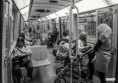 Metro (www.yravaryphotoart.com) Tags: blackandwhite bw monochrome canon subway montral noiretblanc metro mtro peoples noirblanc canonefs1022mmf3445usm canon7d yravaryphotoart yravaryphotoartcom