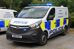 Durham Constabulary Vauxhall Vivaro Dog Support Unit (PFB-999) Tags: durham constabulary police vauxhall vivaro dog section van vehicle unit wagon k9 lightbar grilles leds kn15dco