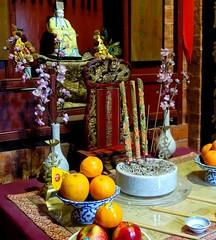 Joss House, Bendigo (silverwine) Tags: joss josshouse temple bendigo chinese victoriangoldfields stilllife offerings