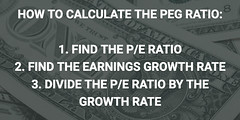 Understanding The PEG Ratio and What Price/Earnings To Growth Means (exploringmarkets) Tags: finance investing investor lessons pe ratio peg stock market stocks